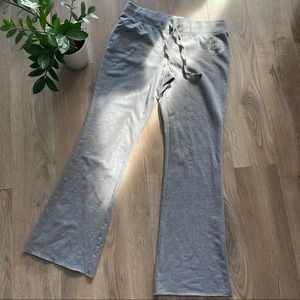 PINK Logo Lounge Sweatpants in Grey